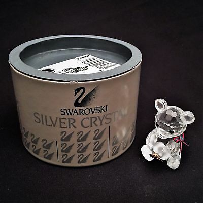 Swarovski Crystal Figurine Kris Bear Honey Pot 213068 / 7637 000 003 MIB W/COA