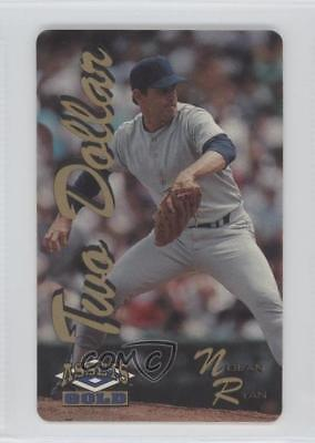 1995 Classic Assets Phone Cards $2 Gold/7741 Nolan Ryan MultiSport Card
