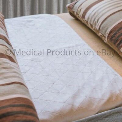 """Waterproof Incontinence Bed Pad & Sheet Protectors - 34"""" x 52"""" inches Underpad"""