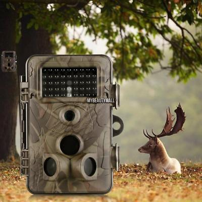 2017 Infrared 12MP 1080P HD Night Vision Game Trail Hunting Camera Waterproof