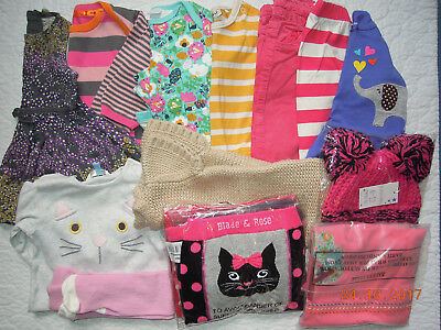 MultiListing Baby Girls Clothes 6-9 6-12 months BUILDA BUNDLE Lilly & Sid Unisex