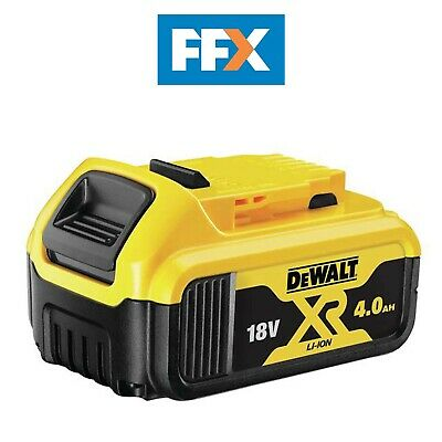 DeWalt Genuine DCB182 XR 18v Li-Ion Battery Pack 4.0ah 18v