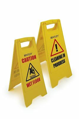 Professional Caution Wet Floor Sign Cleaning In Progress Yellow Warning Cone