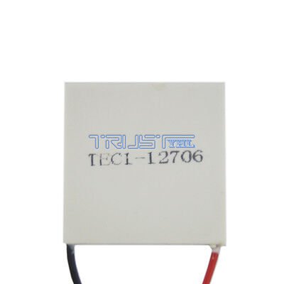 12V 60W Thermoelectric Cooler TEC Peltier Module with Heatsink TEC1-12706 US