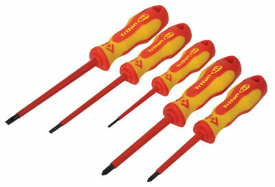 CK Triton XLS T4728 Insulated 5 Piece 1000v VDE Slotted/Philips Screwdriver Set