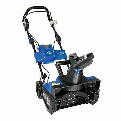 Snow Joe iON 40V Cordless 18 Inch Single Stage Snow Blower w/ Chargeable Battery
