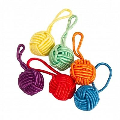 HiyaHiya Brightly Coloured Yarn Ball Knitting Stitch Markers Pack of 6