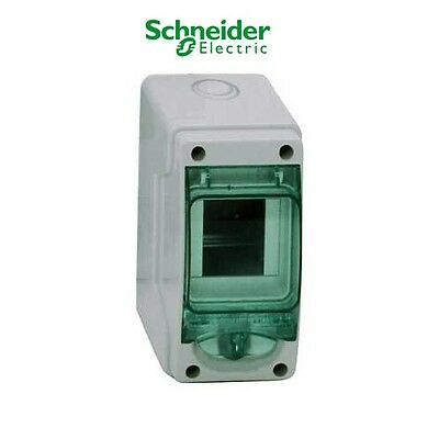 Schneider Kaedra 13975 3 Module MCB Mini Enclosure Weather Proof IP65 13975