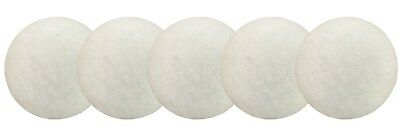 5 X Eheim Compatible 2217 White Polishing Pads