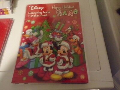 1 Colourbook & Stickersheet Mickey Mouse  16 Pages New 30X21 Cm