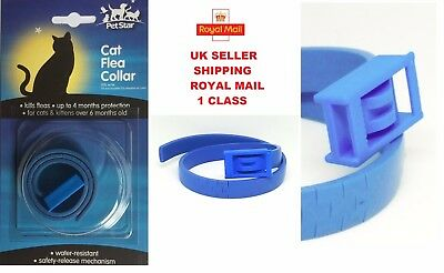 2-3 PACK cat flea collar 4 MONTHS PROTECTION FLEAS KILLER TREATMENT FOR CAT