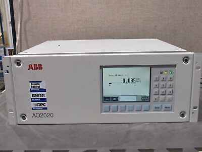 ABB A02020 Advance Optima Series Continuous Gas Analyzer Uras 14 Power Tested