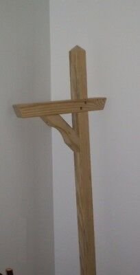 A&L Furniture Co. Amish-Made Pressure-Treated Pine Mailbox Post