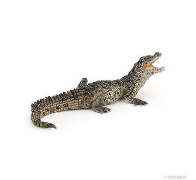 BABY CROCODILE Replica # 50137 ~ FREE SHIP/USA w/ $25.+ Papo Products