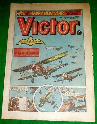 Gloster Gadiators Attacked By Italians N.africa  Ww2 Cover Story Victor 1981
