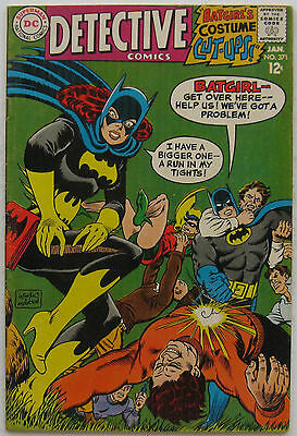 Detective Comics #371 (Jan 68, DC), VFN, 1st new Batmobile from TV show, Batgirl