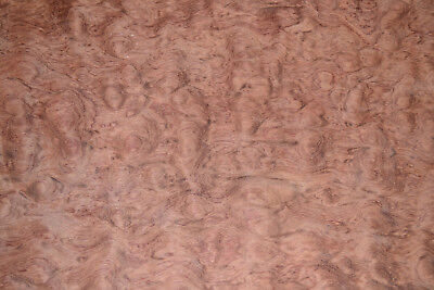 Bubinga Raw Wood Veneer Sheets 15 x 33 inches AKA African Rosewood      c2143-25