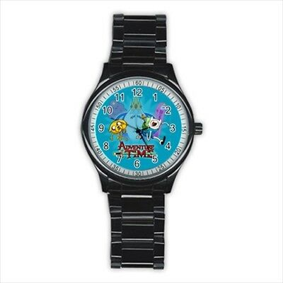 Adventure Time American cartoon series #D01 Stainless Steel Round Watch