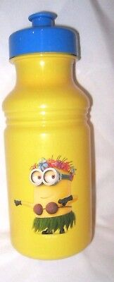 Disney Despicable Me 15 oz. Pull Top Water Bottle-Minions 15oz. Bottle-Brand New