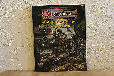 Advanced Dungeons & Dragons - Adventure: Birthright - Legends of the Hero-Kings