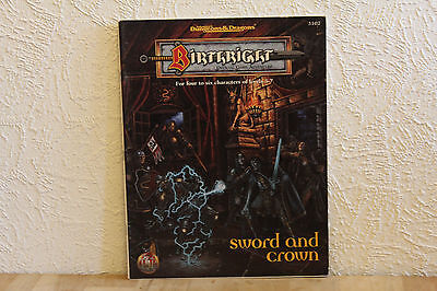 Advanced Dungeons & Dragons - Off. Game Adventure: Birthright - Sword and Crown