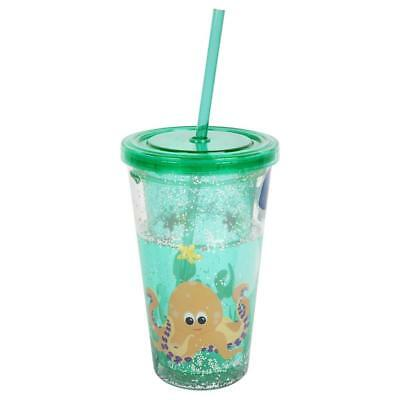 NEW Sunnylife Drink Tumbler Glitter Under The Sea