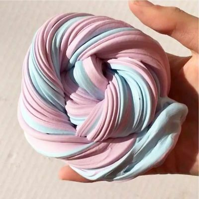 Candyfloss Fluffy Floam Slime Clay Scented Stress Relief Asmr No Borax Kids Toys
