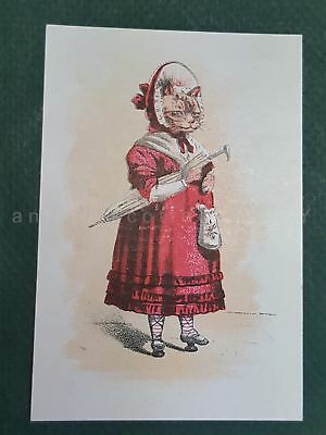 1880s antique CLYNE'S ELECTRIC SHOES ny ANTHROPOMORPHIC victorian TRADE CARD