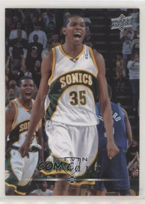 9500fb8e9ee3 2008-09 Upper Deck  177 Kevin Durant Seattle Supersonics Basketball Card