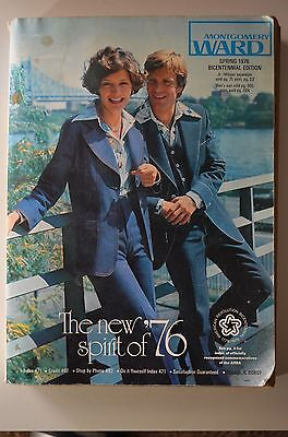 1976 vintage Bicentennial MONTGOMERY WARDS store CATALOG lingerie toys fashions+