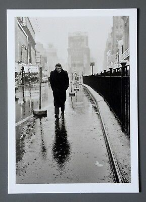 Dennis Stock Limited Edition Photo 17x24cm James Dean Times Square New York 1955