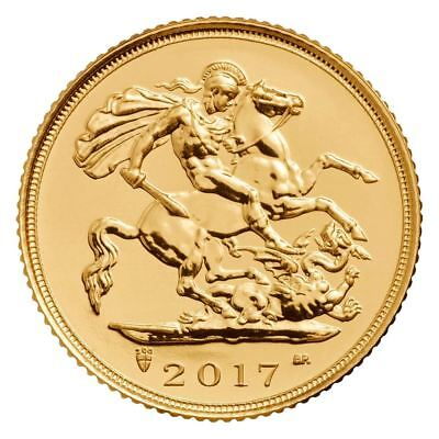 2017 Gold Sovereign Coin | Direct from Royal Mint Tube