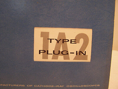 Tektronix Type Plug-IN 1A2 Instruction Manual