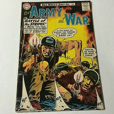 OUR ARMY AT WAR #95 DC Comics 1960 1st BULLDOZER APPEARANCE
