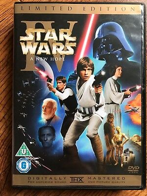 STAR WARS: A NEW HOPE ~ 1977 Theatrical + Special Editions 2 Disc UK DVD