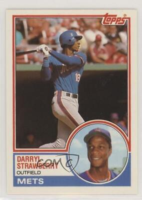 1983 Topps Traded 108t Darryl Strawberry New York Mets Rc Rookie Baseball Card