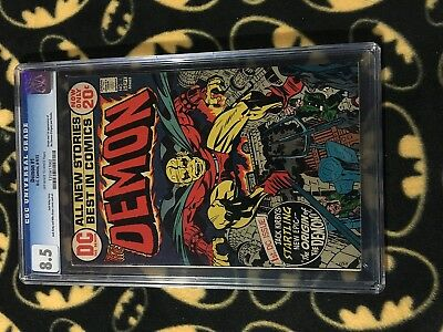 DEMON #1 8.5 CGC Graded Slab 1st Etrigan The First Appearance 1972 Kirby e