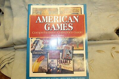 American Games Collector's Guide PB Book ~ Alex G. Malloy ~ 346 Pages ~ 2000