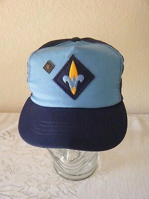 Bsa-Cub Scout Hat Cap With Bear Pin-Size Adjustable