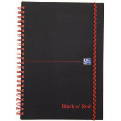 Oxford Black n´ Red Collegeblock, DIN A4, kariert, PP (4006140009312)