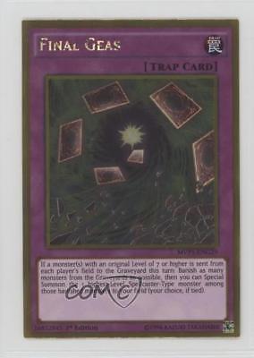 2016 Yu-Gi-Oh! The Dark Side of Dimensions MVP1-ENG29 Final Geas YuGiOh Card 0b5