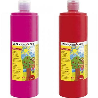 EBERHARD FABER Fingerfarbe EFA Color, manganviolett, 750 ml (4087205789332)