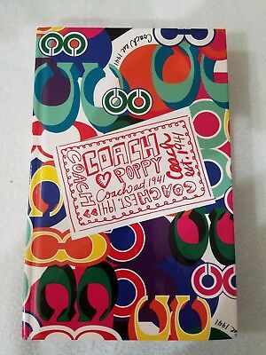 Brand New Coach Poppy Notebook Journal