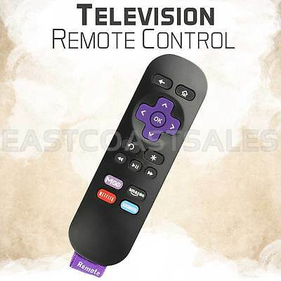 Replaced Remote Control for ROKU 1 2 3 4 LT HD XD XS Player with 4 Shortcut Keys