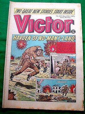 R.a.m.c. 45 Commando  In Holland  Harden V.c  Ww2  Cover Story In  Victor  1973