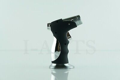 2 Items Scorch Quad Torch With Cigar Puncher And Patriot Disposable Lighters