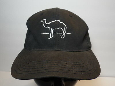 Vintage 1990s CAMEL Logo CIGARETTE Tobacco Advertising COLLECTIBLE Snapback Hat