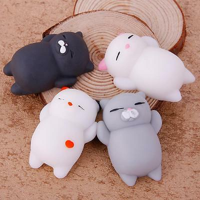 Squishy Cat Claw Fidget Cute Animal Squishies Mochi Squeeze Toys Soft For Kids
