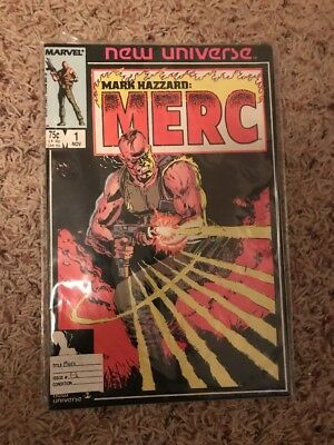 Mark Hazzard: Merc Issue #1-9 (Nov 1986)