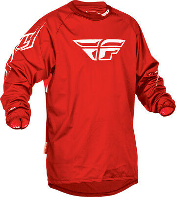 Fly Racing Windproof Jersey Red MD